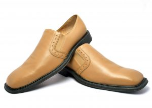 Men Slipon shoes with Plane vamp