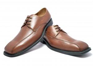 Formal Leather Apron Derby for men