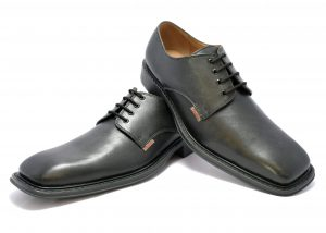 SKU 909 BLACK DERBY SHOES