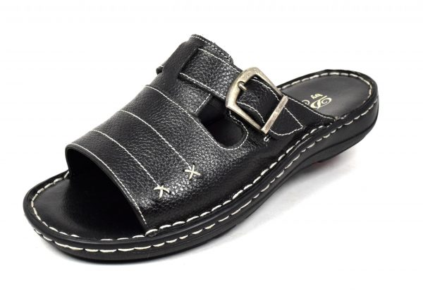 Gents Sandals With Adjustable Instep in genuine leather