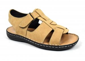 Men Sandals With Ankle Strap