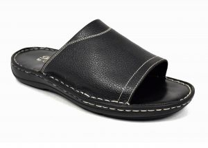 Gents Sandals Without Back Strap in Genuine Leather.