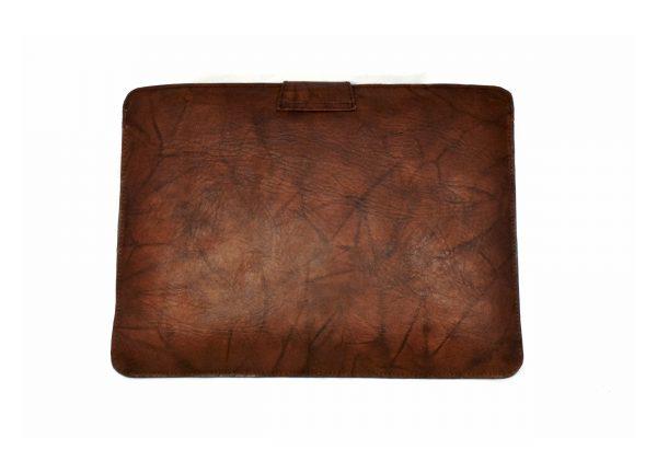 Apple sleeve in Crinkled Brown
