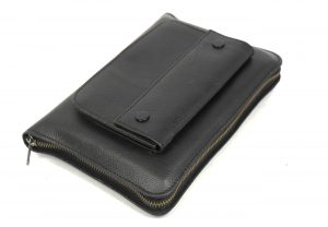 BIBLE COVER WITH FRONT POCKET