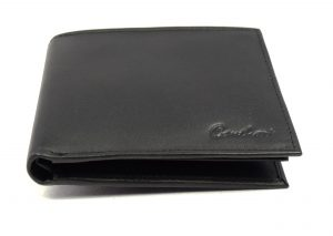 Gents leather wallets in Black