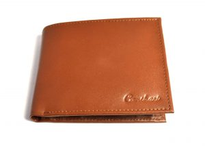 Mens wallet with coin purse