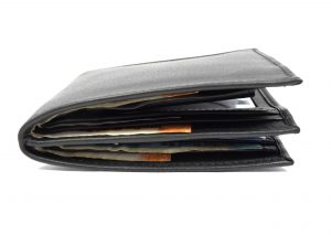 Men's Double Wallet with Coin purse