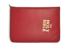Premium bible covers in cherry color